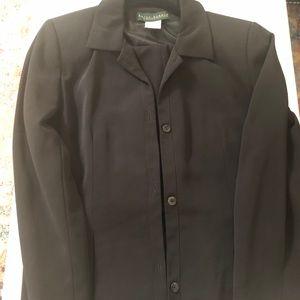 Harve Benard Black Suit